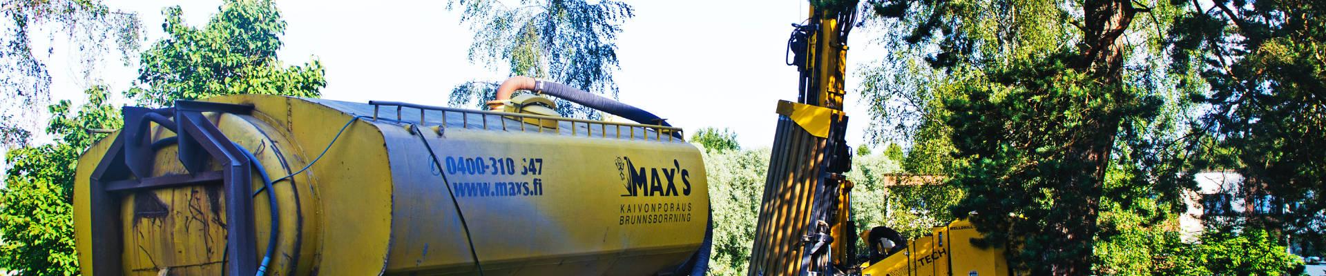 Max's brunnbornning